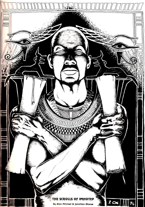 Scrolls of Imhotep front cover